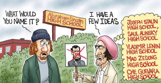 Cartoon of the Day: Historically challenged by A. F. Branco