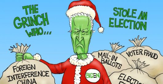 Cartoon of the Day: Green New Steal by A. F. Branco