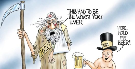 Cartoon of the Day: The good old days by A. F. Branco