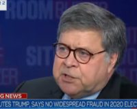 Et tu, Barr? Here's what Bill Barr DIDN'T say