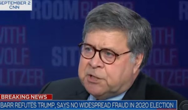 Et tu, Barr? Here's what Bill Barr DIDN'T say by J.E. Dyer