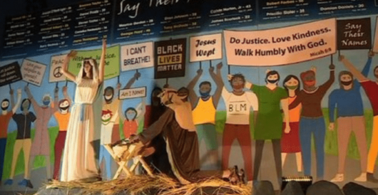 Calif. church creates Black Lives Matter nativity scene for Christmas by Rusty Weiss