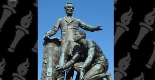 Canceled: Boston succumbs to pressure to remove Lincoln Emancipation Memorial by Howard Portnoy