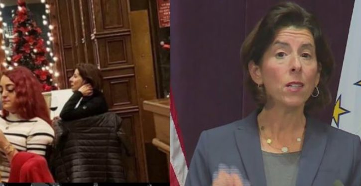 Rhode Island gov tells citizens 'stay home,' spotted days later at a wine bar