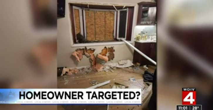 Home of Michigan Trump supporter attacked with explosive