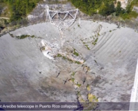 Great loss: World's largest radio telescope in Puerto Rico suffers complete structural collapse