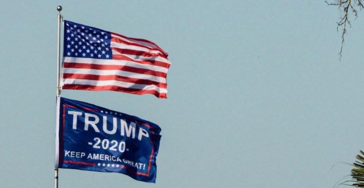 Is the Trump banner the new Confederate flag?