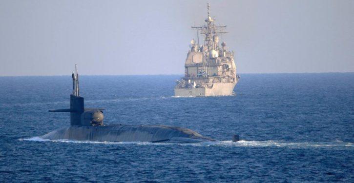 Submarine transits of Suez, Hormuz send signal to Iran