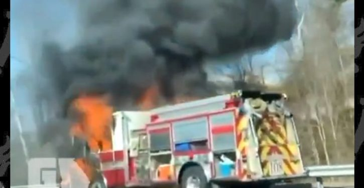 Not The Onion: Fire truck in Georgia catches on fire