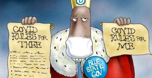 Cartoon of the Day: Emperor's new disease by A. F. Branco