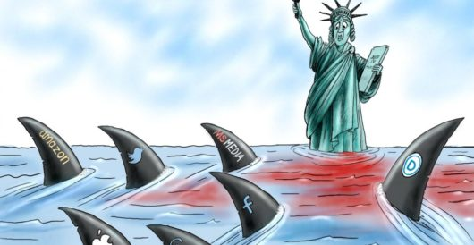 Cartoon of the Day: Shark bait by A. F. Branco
