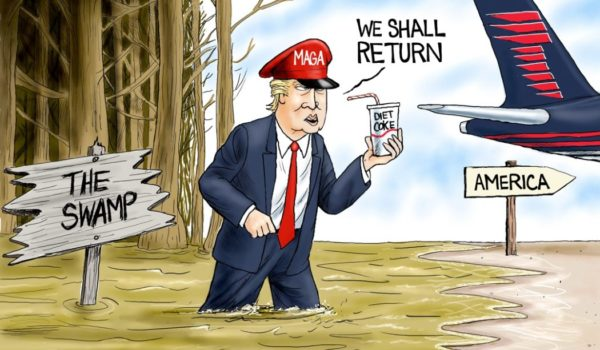 Cartoon of the Day: Parting words by A. F. Branco