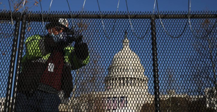The D.C. occupation will continue until 'democracy' is saved … meaning forever