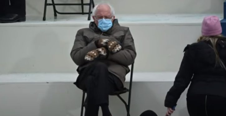 Bernie's fashion moment marred: Mitten-maker had to cease production due to high taxes