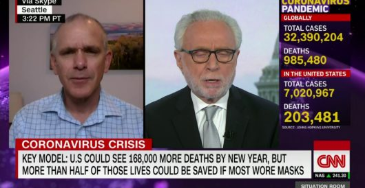 CNN celebrates new sheriff in town by hypocritically deleting its COVID death ticker by Rusty Weiss