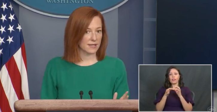 White House Press Secretary Jen Psaki tweeted a gay slur at Lindsey Graham