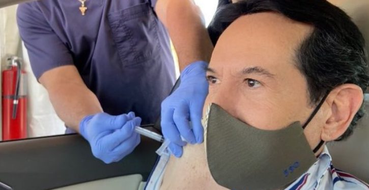 Mexican TV host gets vaccination in Florida ahead of U.S. citizens