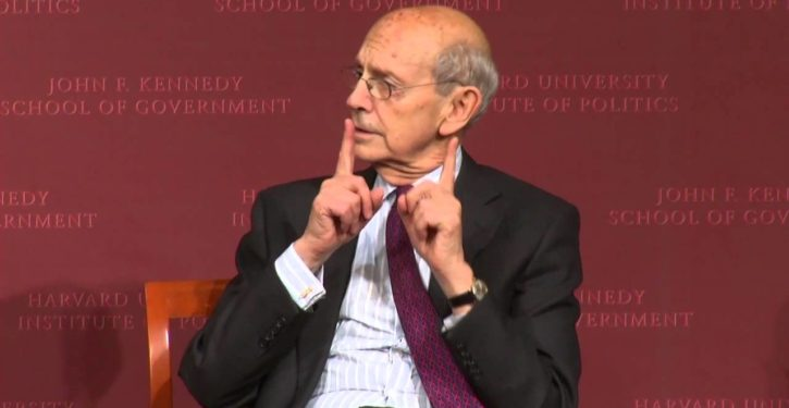 Push to oust Justice Breyer seems to be backfiring, further irritating progressives