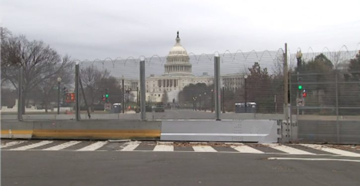 Acting chief of Capitol Police calls for permanent fence
