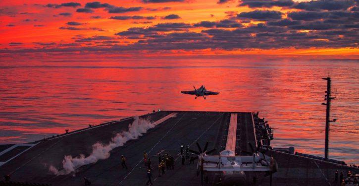 USS Dwight D Eisenhower Carrier Strike Group deploys