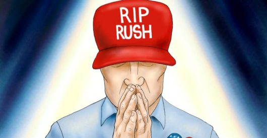 Cartoon of the Day: RIP Rush by A. F. Branco