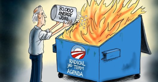 Cartoon of the Day: One man's garbage… by A. F. Branco