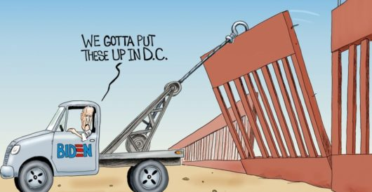Cartoon of the Day: Walls don't work by A. F. Branco