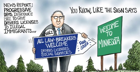 Cartoon of the Day: Sign of the times by A. F. Branco