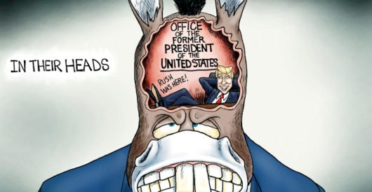 Cartoon of the Day: A pain in the burro by A. F. Branco