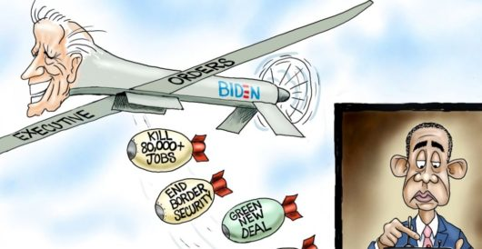 Cartoon of the Day: Smooth operator by A. F. Branco