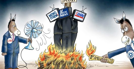 Cartoon of the Day: Pyromaniacs by A. F. Branco
