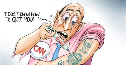 Cartoon of the Day: Addicted by A. F. Branco