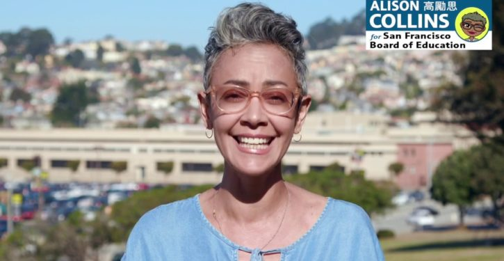 SF Board of Ed. VP goes there, claims meritocracy is racist