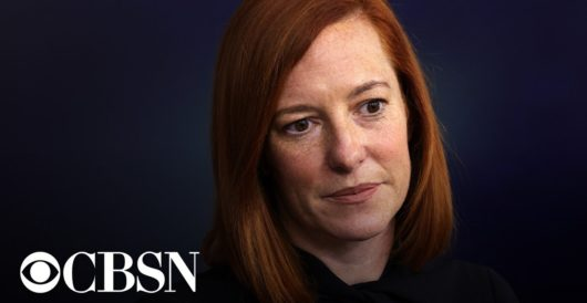 Jen Psaki gets testy with another reporter, defends boys competing in girls sports by Rusty Weiss