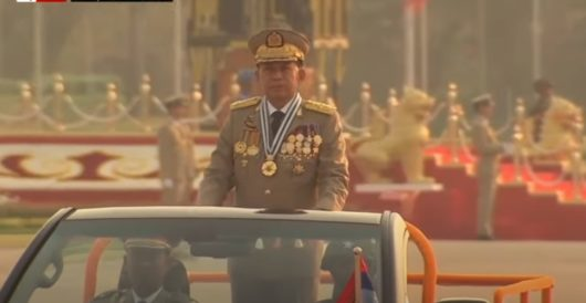 Coup in Myanmar: Major muscles start to twitch by J.E. Dyer