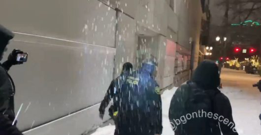 Anti-police protesters pelt Portland cops with 'icy snowballs,' police say by Daily Caller News Foundation