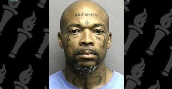 Robber with social security number tattooed on forehead sentenced to 40 years