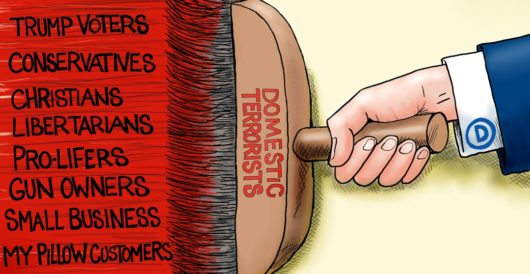 Cartoon of the Day: Broad brush by A. F. Branco