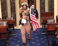 New video clip shows Capitol Police officer allowing entry by 'Q shaman,' others
