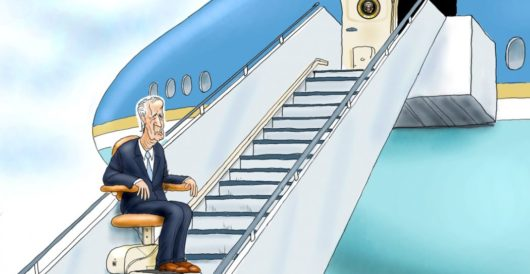 Cartoon of the Day: Chair Force One by LU Staff