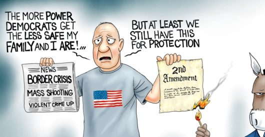 Cartoon of the Day: Underhanded by A. F. Branco
