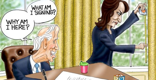 Cartoon of the Day: Lying in wait by A. F. Branco