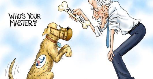 Cartoon of the Day: It's a Dog's Life by A. F. Branco