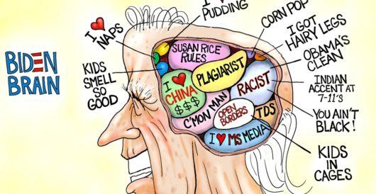 Cartoon of the Day: Open Biden by A. F. Branco