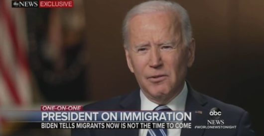 Biden's old message to migrants: 'Come on in.' His new message: 'Go away' by Ben Bowles