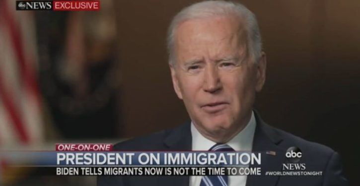 Biden's old message to migrants: 'Come on in.' His new message: 'Go away'