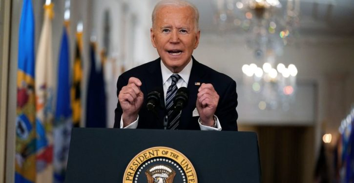 In primetime address to nation, Biden grants permission to celebrate July 4 — maybe