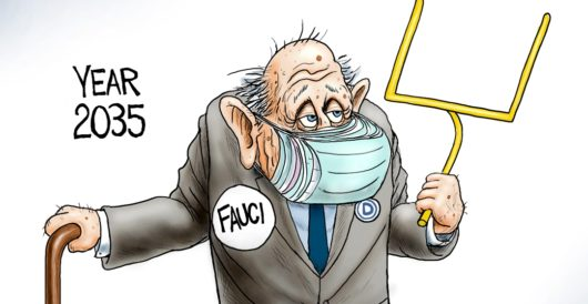 Cartoon of the Day: Blind trust by A. F. Branco