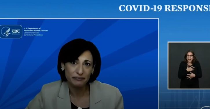 More mixed messages from CDC Director Rochelle Walensky