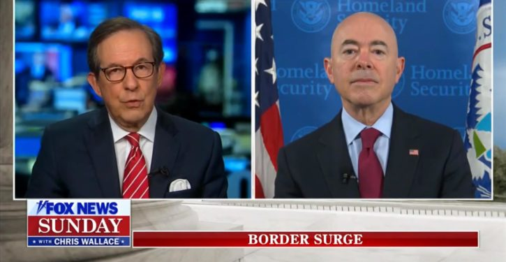 Biden DHS chief on border media blackout: My dog ate my homework